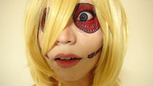 - Female Titan - Makeup 3 by KisaMake