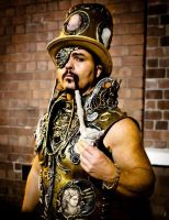 steampunk cirquepunk  k by overlord-costume-art