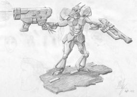 Infantry Mech by Stitchfan
