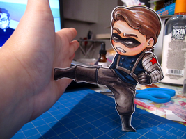 Winter Soldier Paper Child by DigitalDuckie