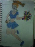Rainbow Brite-a High School Cheerleader by jahendrick