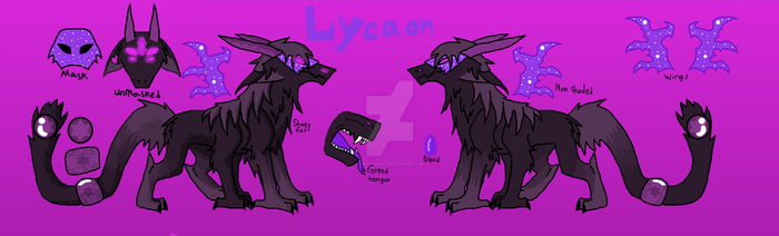 New Character Lycaon by Firewolf247
