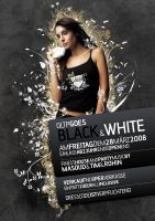 Black and White Flyer by simplyray
