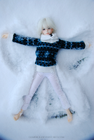Snow Angel Version Two by geminick