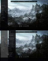 Skyrim Rainmeter - early by yorgash