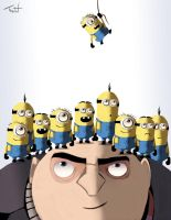 Despicable Me by TraiN8