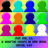 chat icon v2 128x128 12icons by gr8koogly