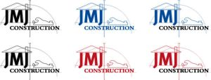 JMJ Construction Logo by MysticNeonGLow