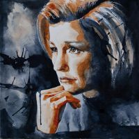Janeway by GrayscaleArt