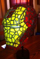 Iron Man Stained Glass Off by mclanesmemories