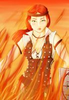 Aveline Vallen Da2 No Blood But Fire by NaokoYamashita