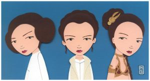 Nerd Love: Princess Leia by renton1313