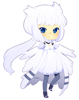 Reshiram gijinka adopt -closed- by poffinbox
