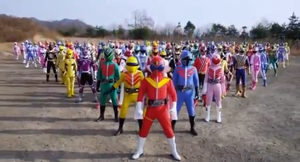 Super Sentai Madness (Aka Power Rangers) by ShinSubarashiKage124