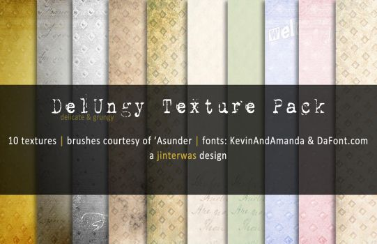 DelUngy Texture Pack by jinterwas