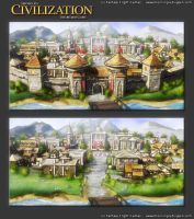 Civilization board game expansion 1c by henning