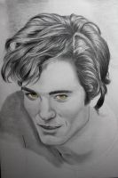 Edward Cullen WIP 2 by WitchiArt