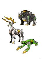 FRIGID ZORDS 2 by kishiaku