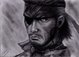 Metal Gear Solid Big Boss by MauriceDiekmann