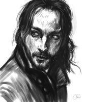 Ichabod Crane - Sleepy Hollow by ChristyTortland