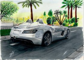 Mercedes SLR Mclaren ''Stirling Moss'' by MGLola