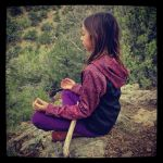 baby girl meditation by j13-satori
