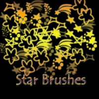 Star Brushes by pokefan