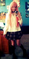 Moka Cosplay Spring Uniform by strawberryneko2