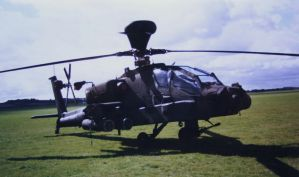 combat helicopter duxford by Sceptre63