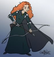 Merida by jessehbechtold