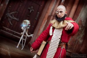 warhammer 40K 40000 cosplay Althair Missionary Pri by AlthairLangley