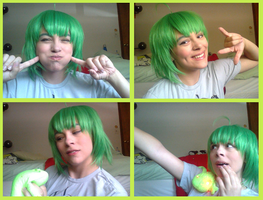 Ranka Lee wig and make-up test by ManicRuse