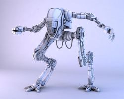 3D Robot Model by neo007theone
