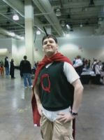 Quail Man by caged-birds