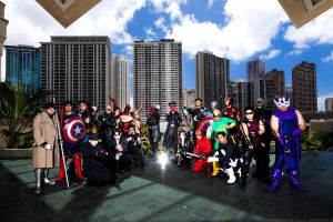 MARVEL group 2 by Tokyo-Trends