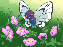 Butterfree by PrincessKilvas