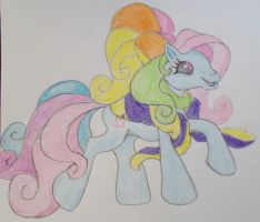 My Little Pony Drawing by friesianloverl2K