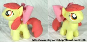 Apple Bloom plush by MandyNeko
