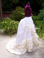 Tissot Inspired Bustle Skirt by laurenmonkey