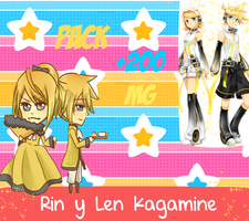 Pack Rin y Len by CandeMatos