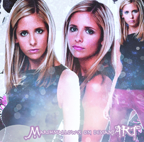 Buffy by Marshmallow-x