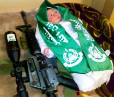 i love Palestinian  baby by palsun