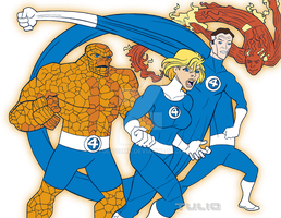 WSC Fantastic Four by TULIO19mx