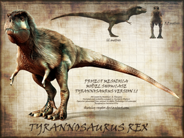 Tyrannosaurus Showcase (Old Version) by Sketchy-raptor