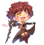[Commission] Chibi Neo Hazai by Porforever