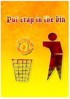 Put Crap in the Bin by thefreaks