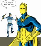 Dr.Fate BlueBeetle commission by mattcrap