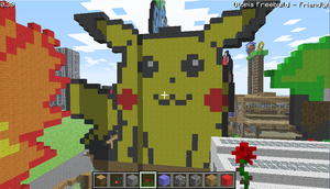 pikachu by bluecarseat