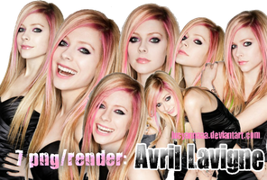 Avril Lavigne png-render by lucyannaaa