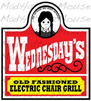 Wednesday's Grill by MadHatterzMouse